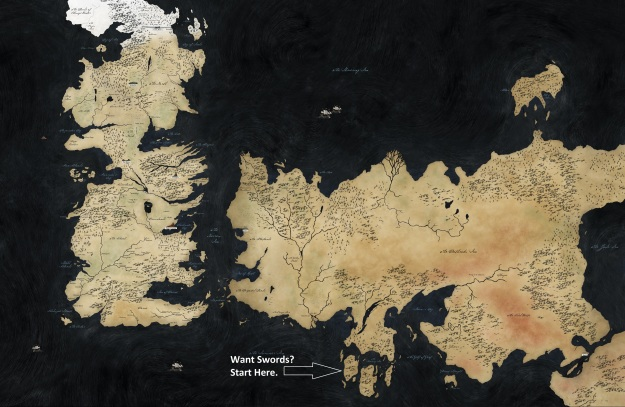 Valyrian Steel Location