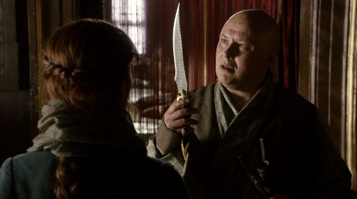 Varys Examining Assassins Dagger